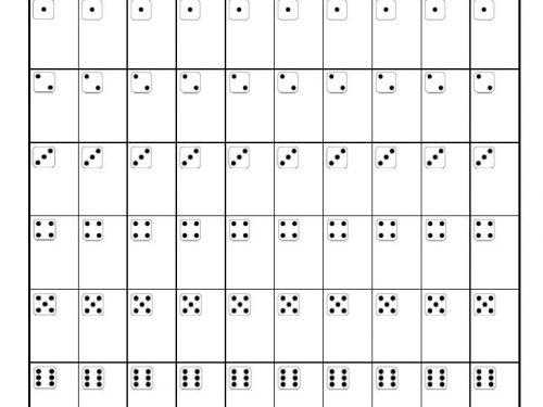 10 game bunco score sheet