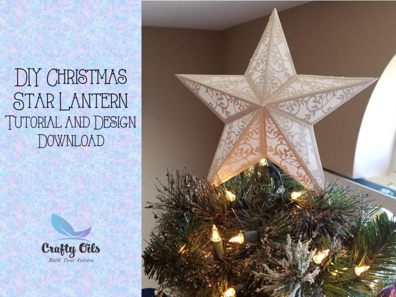 DIY Christmas Star Lantern