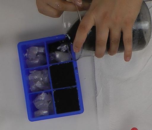 Making Coal Soap Rocks