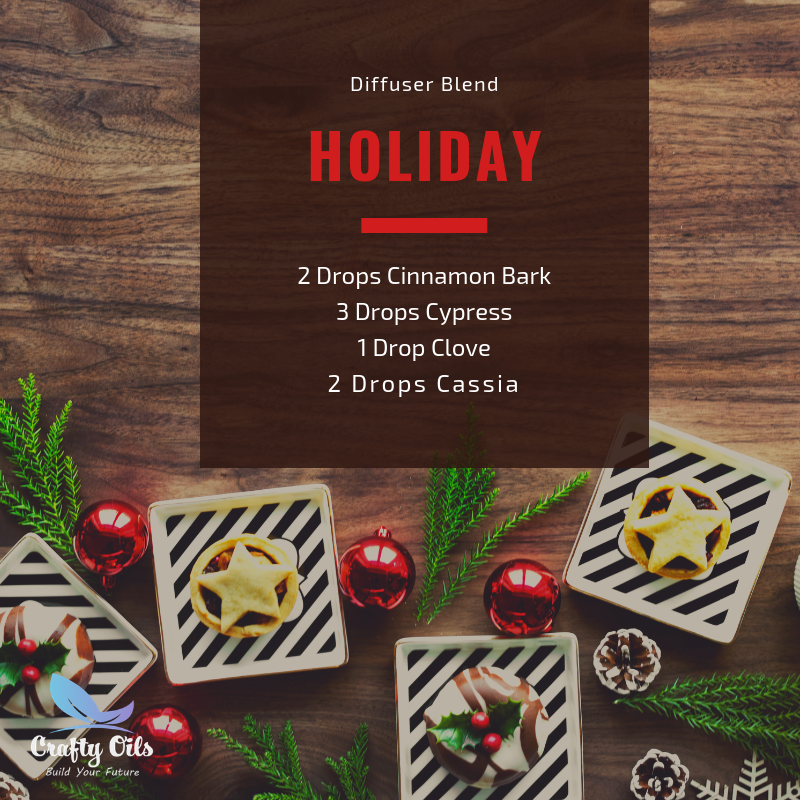 Holiday Diffuser Blend