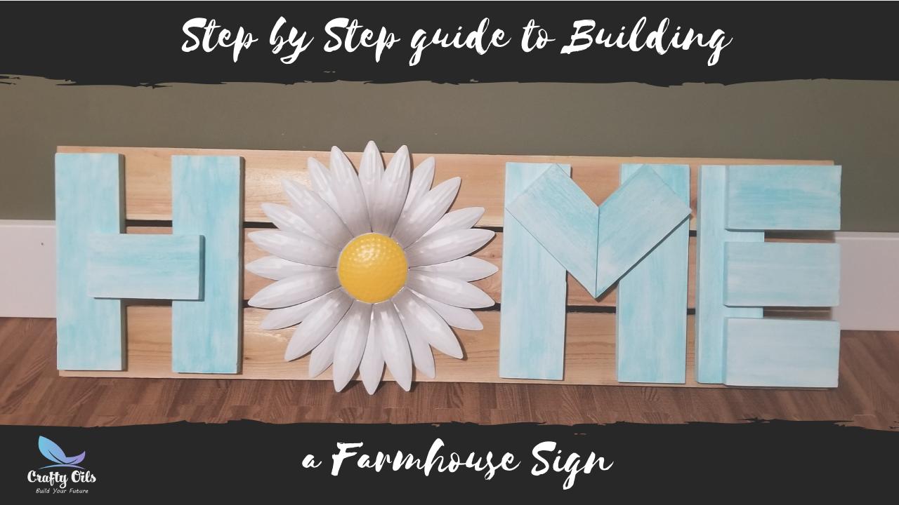 Farmhouse Home Pallet Sign Tutorial