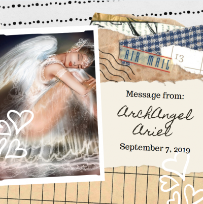 Archangel Ariel Message September 7 2019